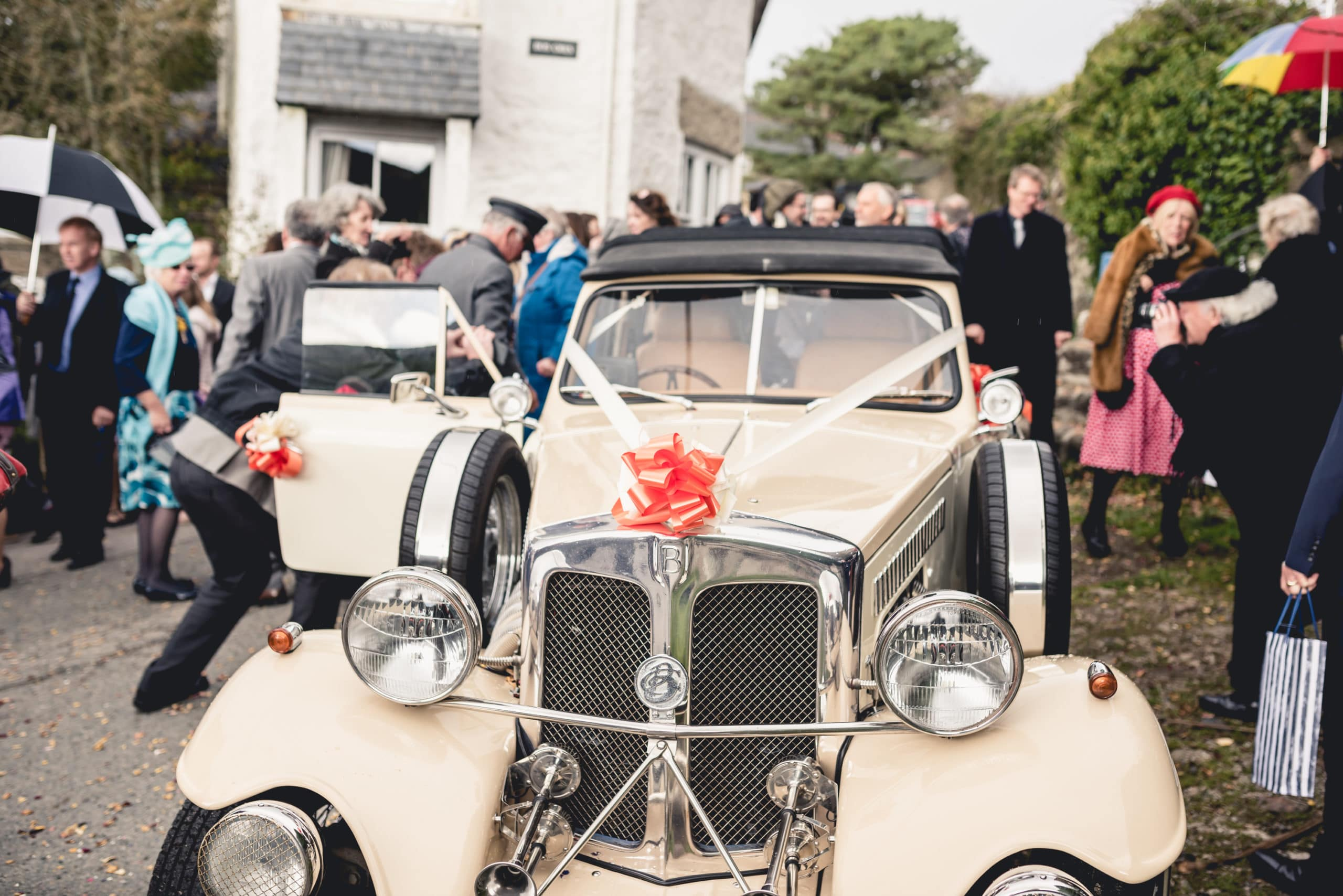 Roaring 30s at a Zennor wedding